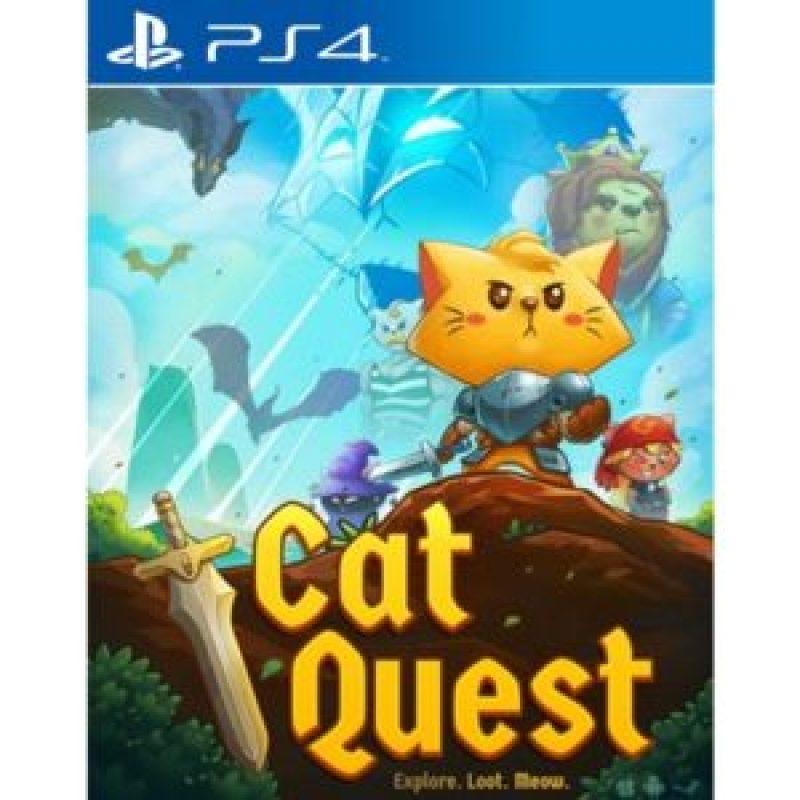 Sortie   Jeux vidéo sur PS4 en Novembre 2017 cat quest