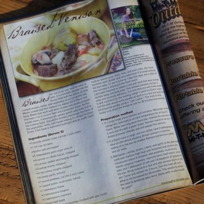 Stacy Harris' Gamekeepers Farming for Wildlife Article/Recipe