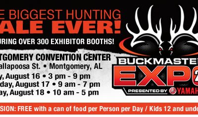 Visit with Me at the Buckmasters Expo