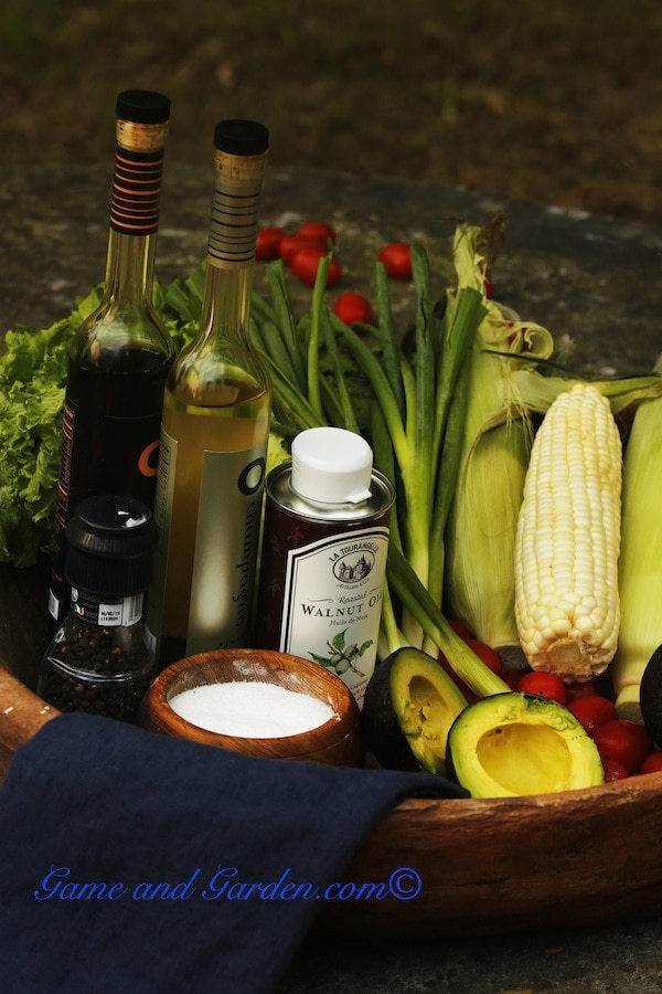 Ingredients for Lettuce Tacos