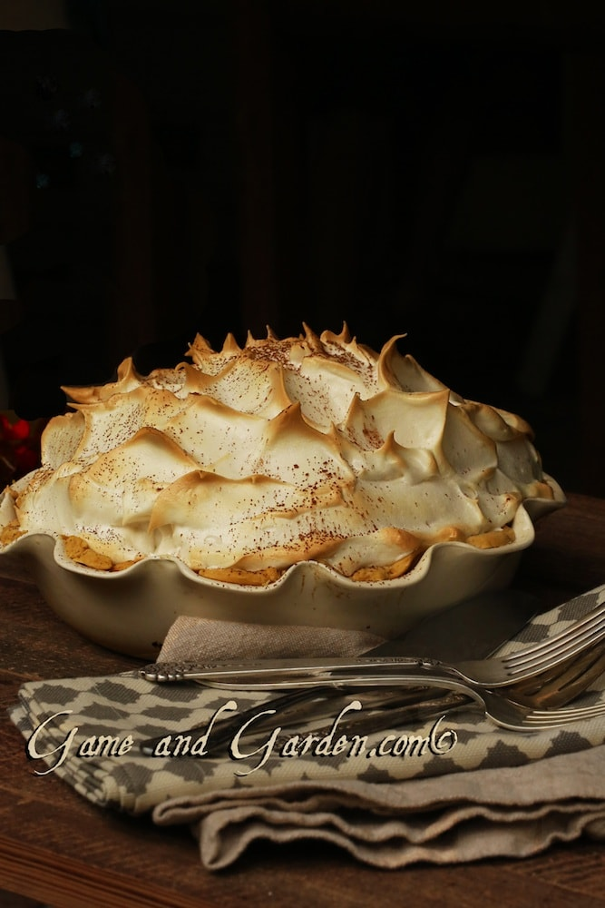 Unbelievable Chocolate Meringue Pie - we might become best friends after eating this!