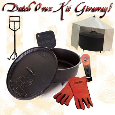 Dutch Oven Kit Give Away