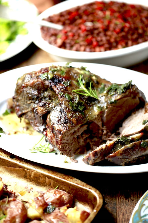 Lamb is one of the most succulent, nutritious meats you can put on your table. It pairs perfectly with roasted smashed red potatoes , salad, asparagus, and crusty bread!