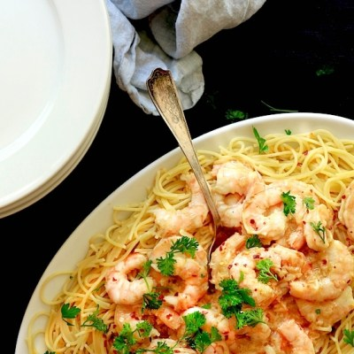 Garlicky Shrimp Scampi Recipe