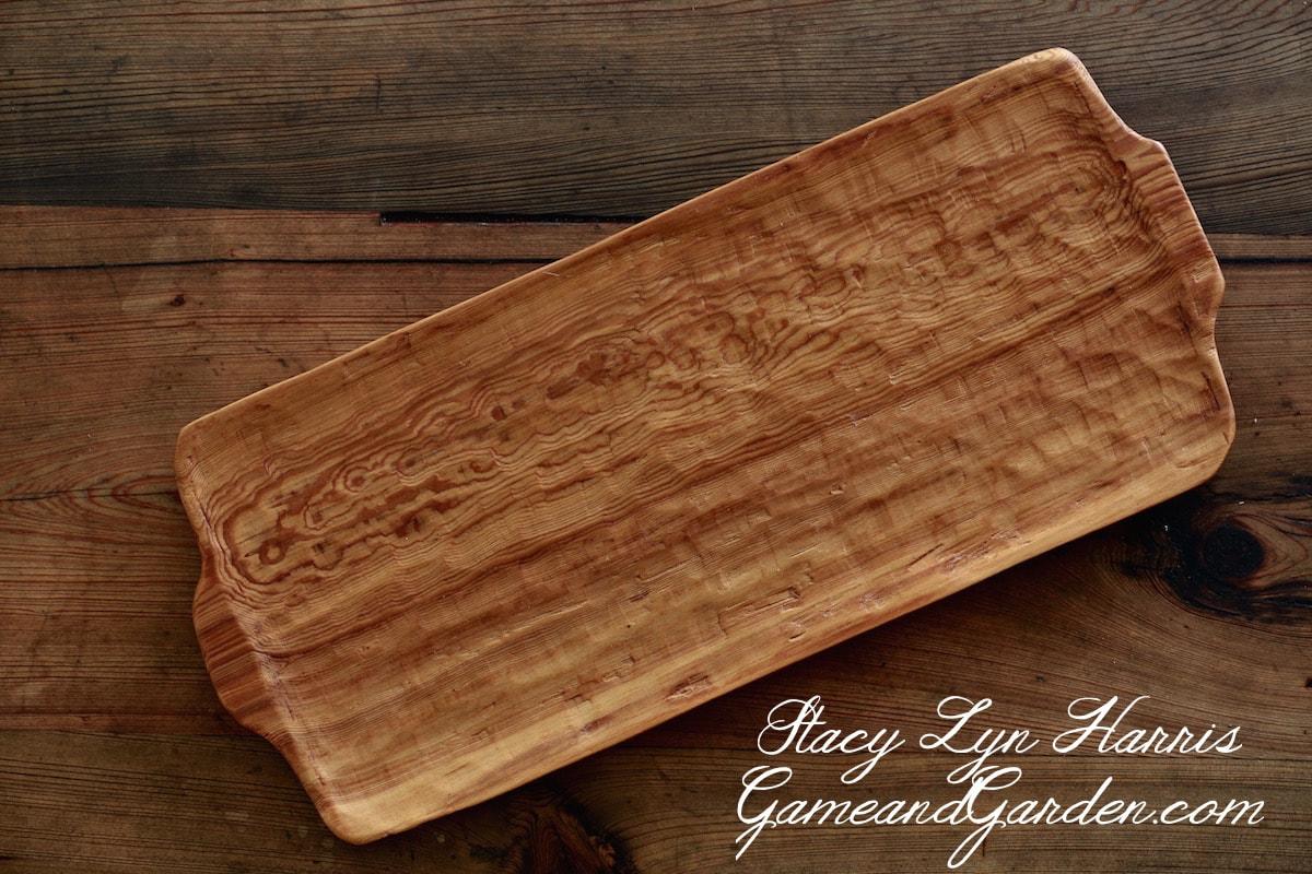Alabama River Reclaimed Sinker Cypress Serving Platter