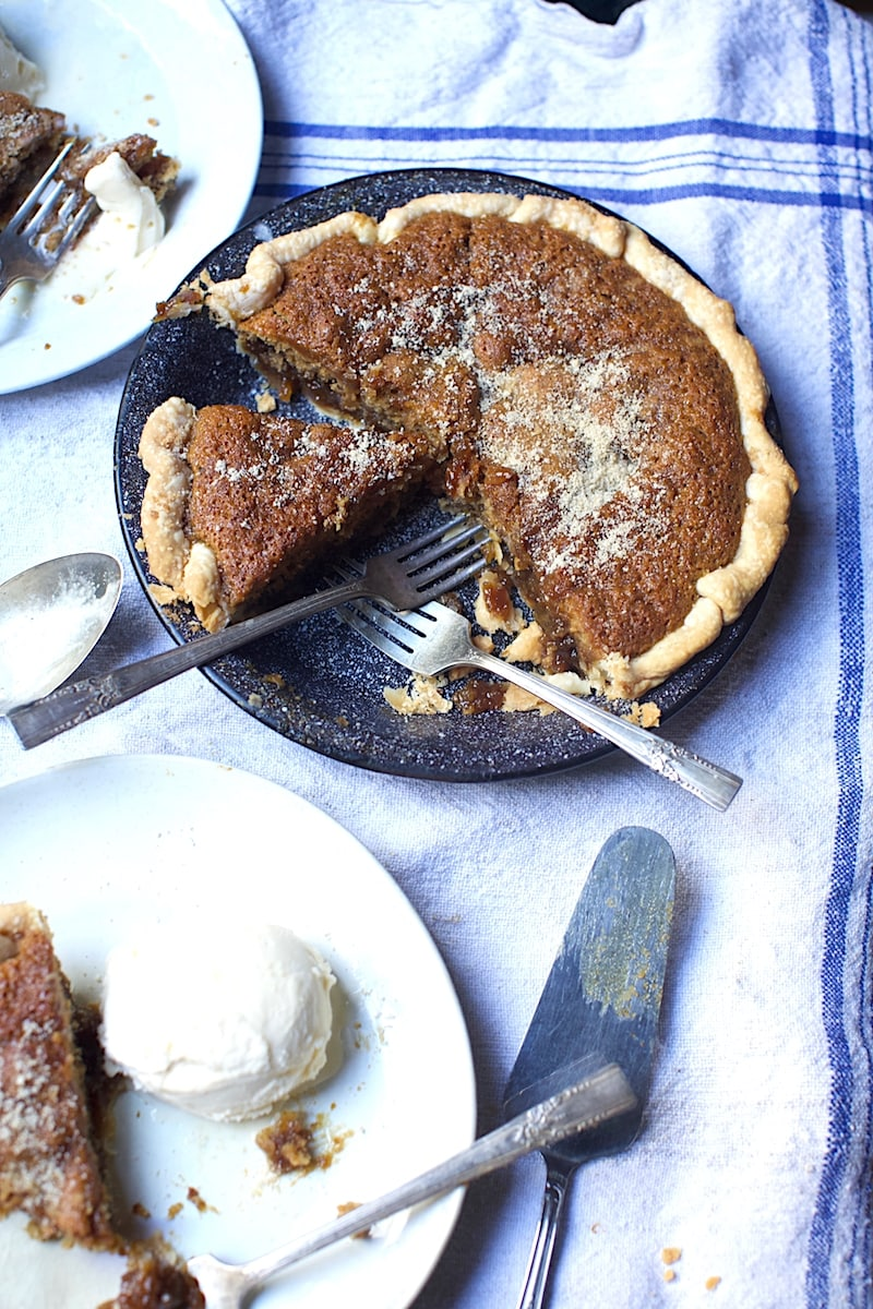 "Served with Ice Cream or Homemade Whipped Cream, this Southern Spice Pie will scream, ""Come and Get Me!!"""