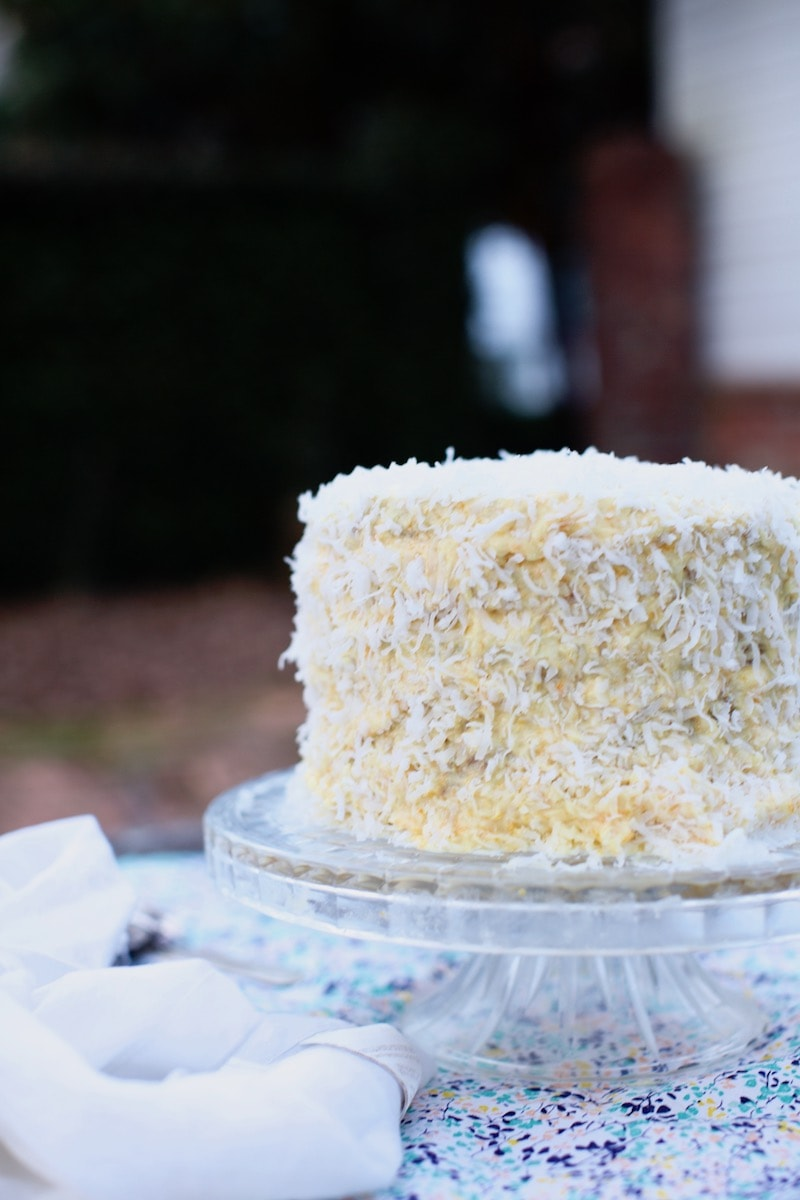 This cake is one of the most refreshing Southern Cakes I have ever had. It's my husband's new favorite!! That means a winner.