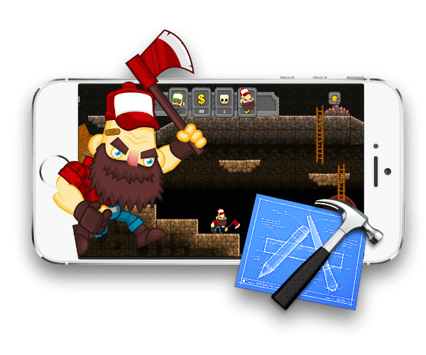 Hillbillies vs Zombies iOS Starter Kit and Art Bunde