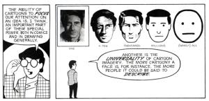 understand comics faces