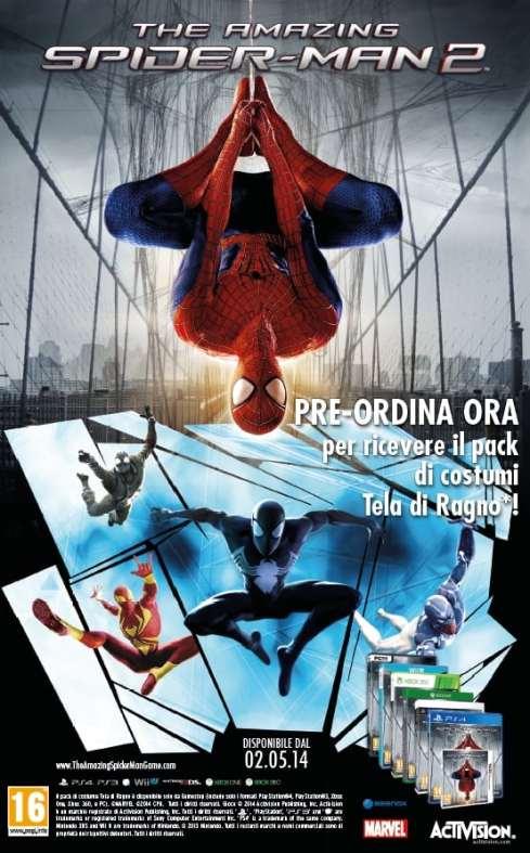 The Amazing Spider-Man 2 - DLC di preordine