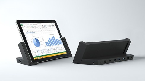 Grazie alla Docking Station, da oggi il Surface Pro 3 diventa un dispositivo 3 in 1: tablet, laptop e desktop