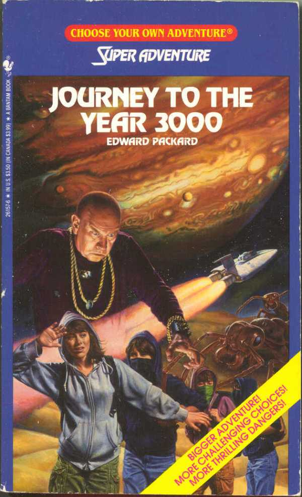 Item - Journey to the Year 3000 - Demian's Gamebook Web Page