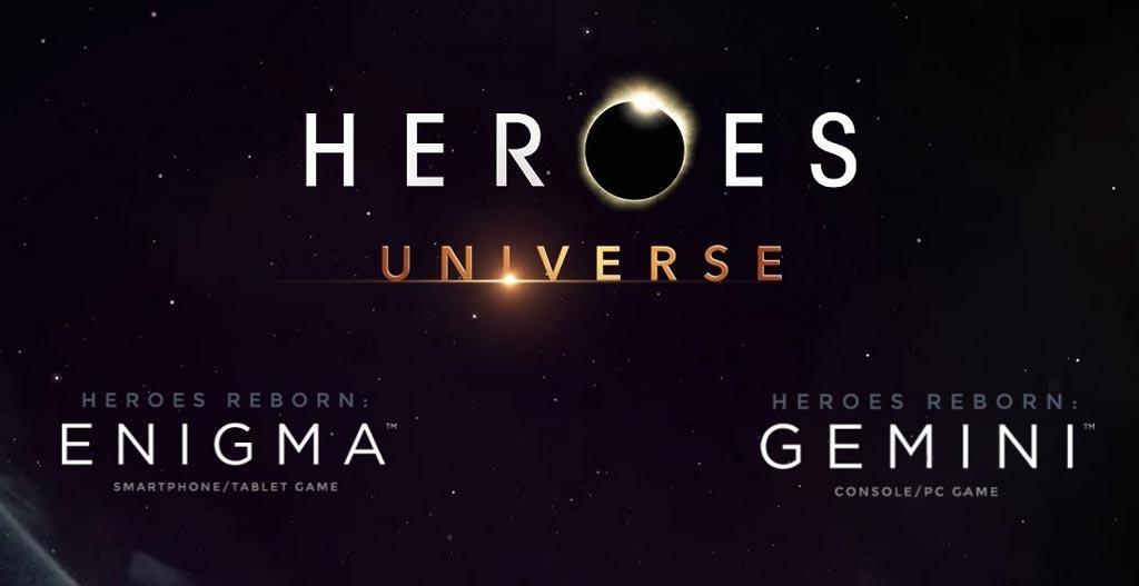 Трейлер игр по сериалу Heroes Reborn