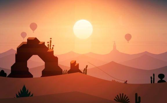 Alto's Odyssey сменит заснеженные склоны на песок пустыни