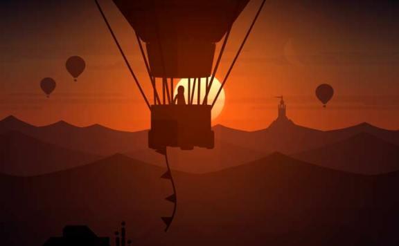 [E3 2017] Alto's Odyssey позволит прокатится по воздушным шарам