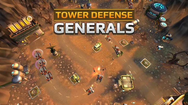 Скачать Tower Defense Generals TD на Android iOS