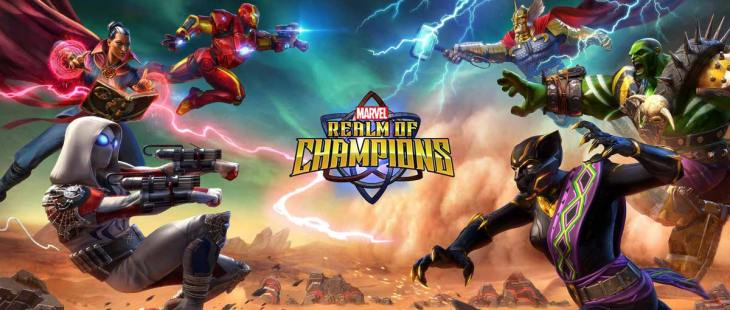 Скачать MARVEL Realm of Champions на Android iOS