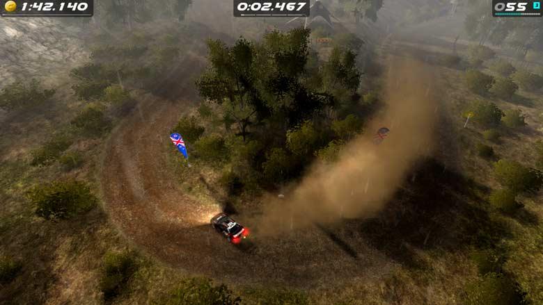 Скриншот Rush Rally Origins