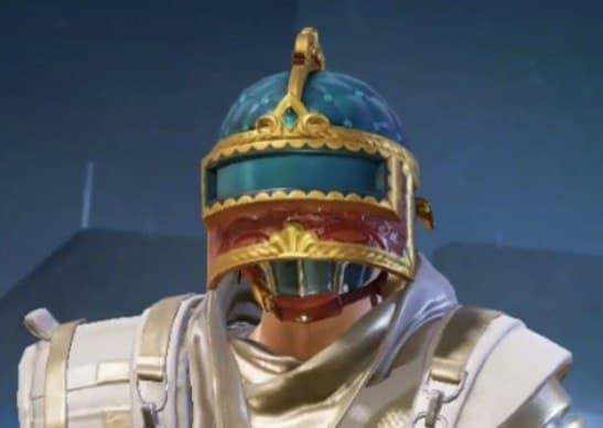 Слив скинов Royale Pass 20 сезона (1-го цикла 1-го сезона) шлем