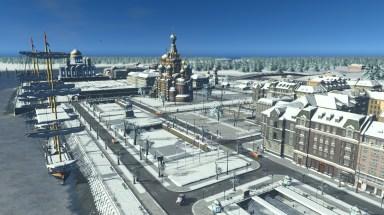 Карта Санкт-Петербурга для Cities Skylines