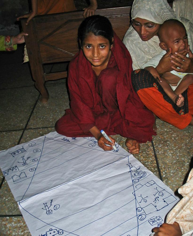 Empowerment Diamond, Pakistan