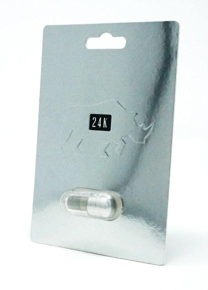 Rhino Platinum 24-K Male Enhancement Supplement Pill