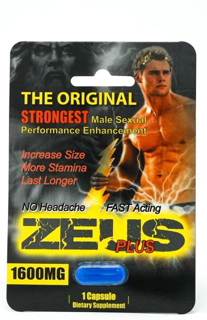 Zeus male enhancement blister pack