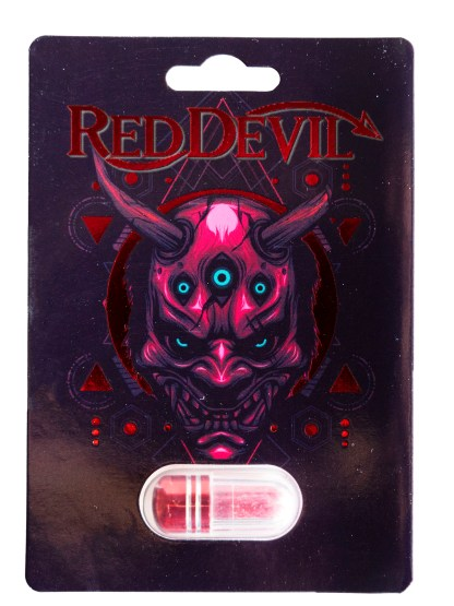 Red Devil Pill Front