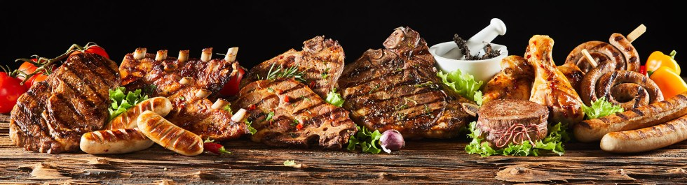 A selection of grilled meats is one of the 5 grilling tips to wow your friends at the next barbecue.