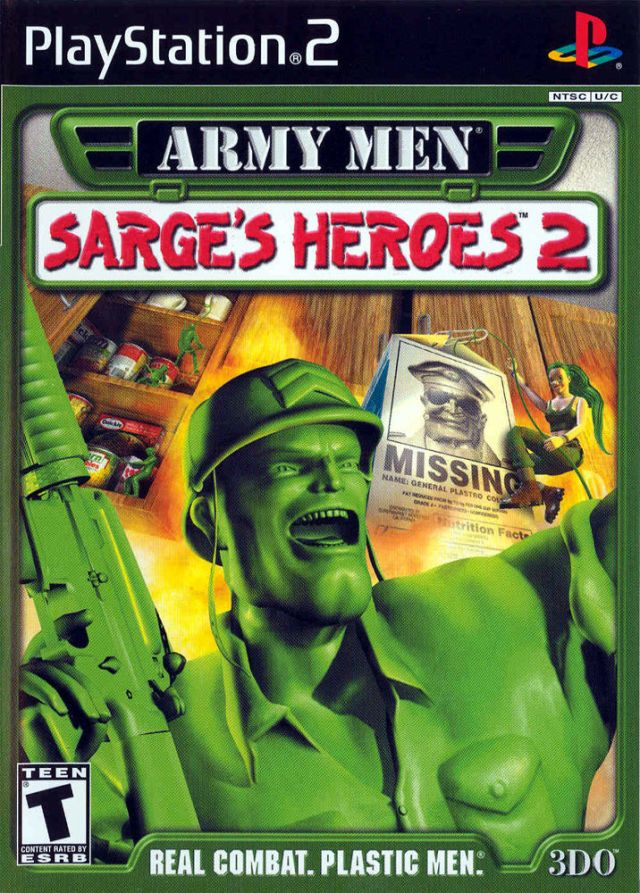 Review Army Men Sarge S Heroes 2 Ps2 Game Complaint Department