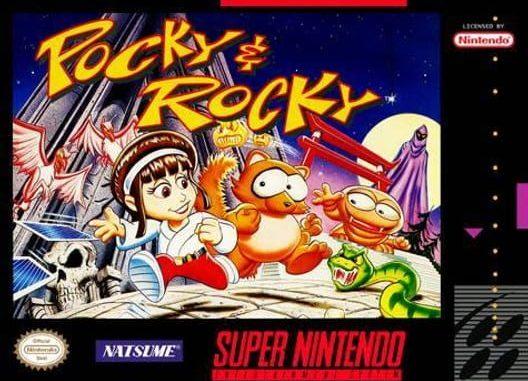 SNES - Parlons jeu Pocky-Rocky-SNES