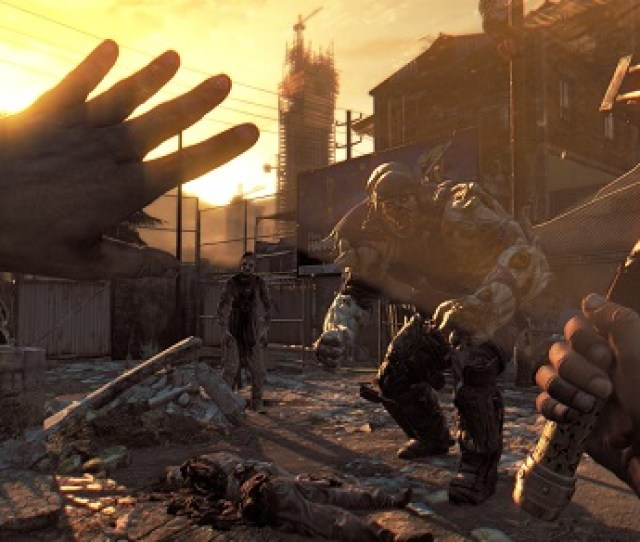 Dying Light High Watching A Horde Of Zombies