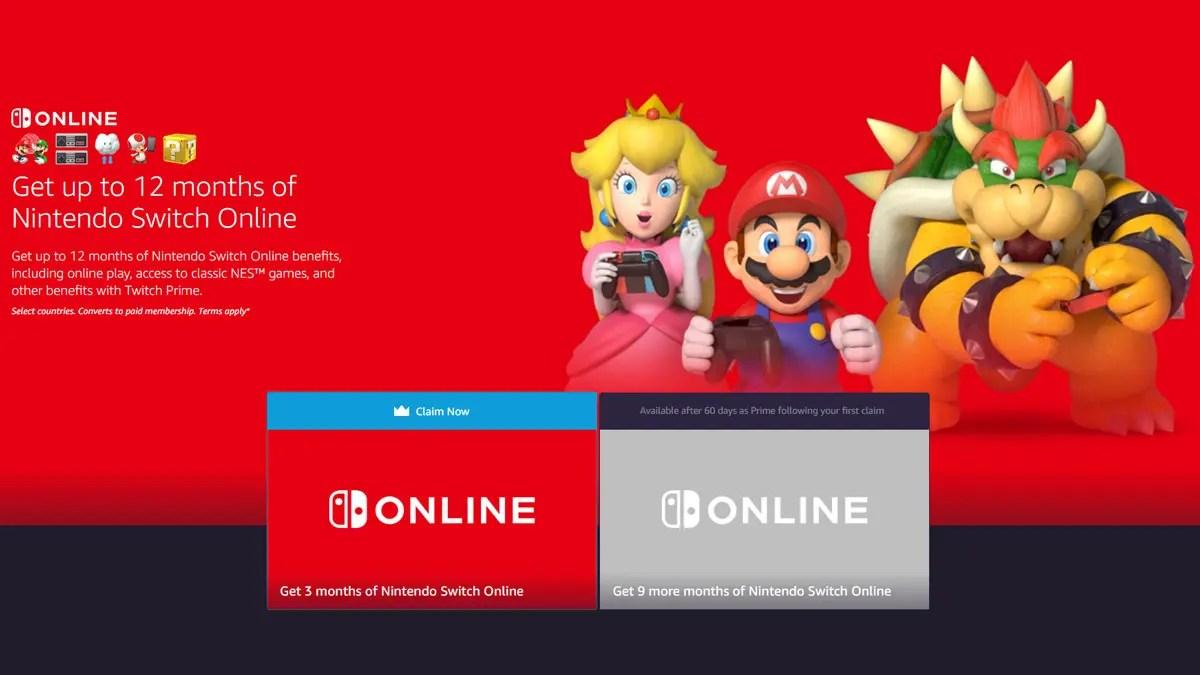 Twitch Nintendo Online