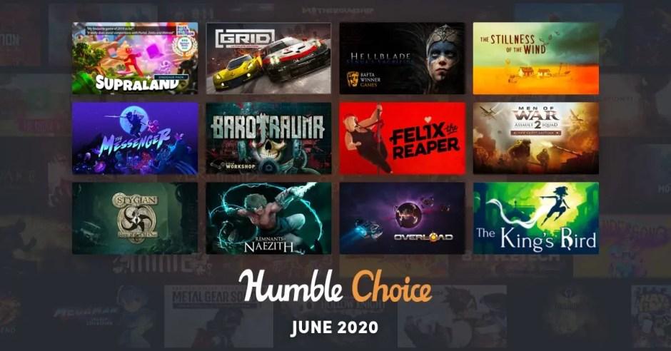 Humble Choice June 2020