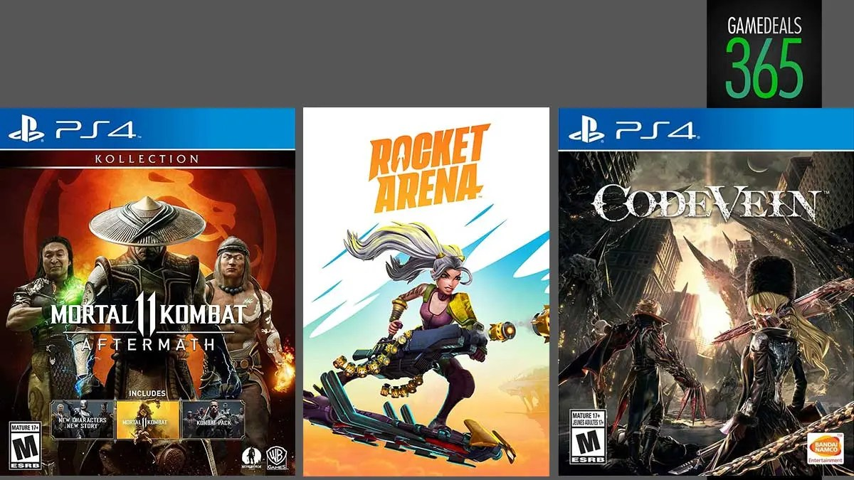 Game Deals Rocket Arena Mk11 Aftermath Kollection Code Vein