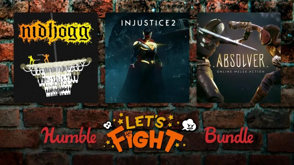 Humble Let's Fight Bundle Injustice 2, Absolver, Nidhogg