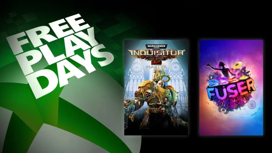 Xbox Free Play Days: Fuser, Warhammer 40000: Inquisitor – Martyr