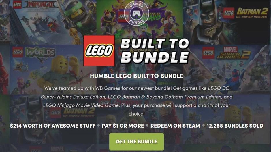Humble LEGO Built to Build Bundle