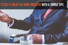 How to get a job in the game industry