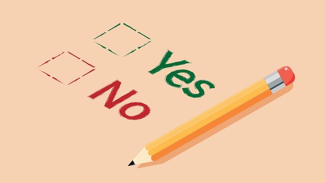Unity 2D Yes or No