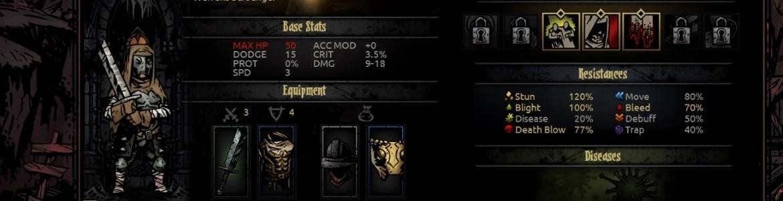Darkest Dungeon Gear
