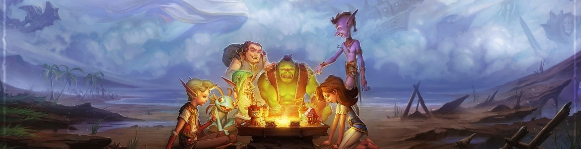 Hearthstone Group Play Art