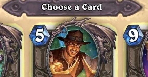 Hearthstone Arena Choose