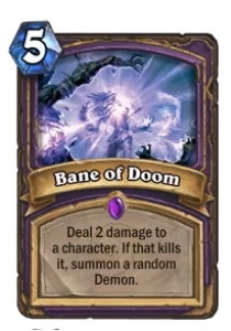 Hearthstone Bane of Doom