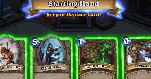 Hearthstone Beta Hand