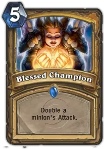 Hearthstone Blessed Champion
