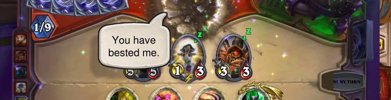 Hearthstone Demon Win