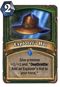 Hearthstone Explorers Hat