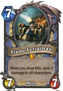 Hearthstone Flame Leviathan