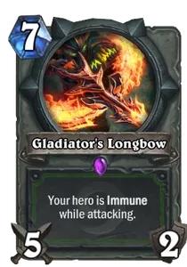 Hearthstone Gladiators Longbow